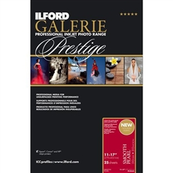 "ILFORD GALERIE SMOOTH PEARL 11X17"" (25 SHEETS)"