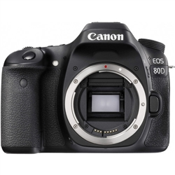 Canon EOS 80D DSLR Camera (Body Only)