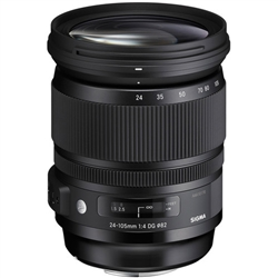 Sigma 24-105mm f/4 DG OS HSM Art Lens for Nikon F