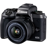 Canon EOS M5 Mirrorless Digital Camera with EF-M 15-45MM Lens