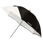 "SCRIM JIM 43"" COLLAPSIBLE UMBRELLA (WHITE)"