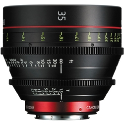 Canon CN-E 35mm T1.5 L F Cinema Prime Lens (EF Mount)
