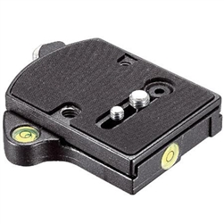 MANFROTTO QUICK RELEASE ADAPTER WITH PLATE