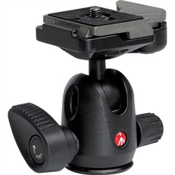 MANFROTTO MINI BALL HEAD WITH RC2 RAPID CONNECT PLATE