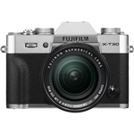 Fujifilm X-T30 Body - Silver & XF18-55mm F2.8-4 R Lens Kit