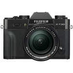 Fujifilm X-T30 Body - Black & XF18-55mm F2.8-4 R Lens Kit