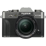 Fujifilm X-T30 Body - Charcoal Silver & XF18-55mm F2.8-4 R Lens Kit