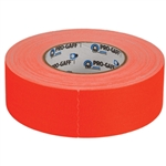 "FLOURESCENT ORANGE GAFFERS TAPE  2""X60 YDS"