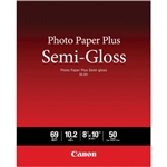 "CANON PHOTO PLUS SEMIGLOSS 8X10"" (50 SHEETS)"