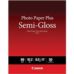 "CANON PHOTO PLUS SEMIGLOSS 8.5X11"" (50 SHEETS)"