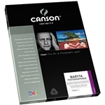 "CANSON 8.5X11"" BARYTA 310GMS (25 SHEETS)"