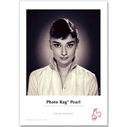 "HAHNEMUHLE PHOTO RAG PEARL 17X22"" 320GSM (25 SHEETS)"