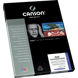 "CANSON INFINITY RAG PHOTOGRAPHIQUE 310GSM 11X17"" (25 SHEETS)"