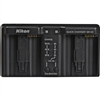 NIKON MH-22 DUAL BATTERY CHARGER