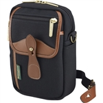 Billingham Airline Stowaway Bag (Black with Tan Trim)