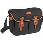 Billingham Large Hadley Shoulder Bag (Black w/ Tan)