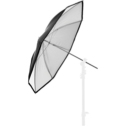 "LASTOLITE 30"" WHITE PVC UMBRELLA"