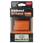 HAHNEL EL15 BATTERY PACK FOR NIKON D7000 DSLR