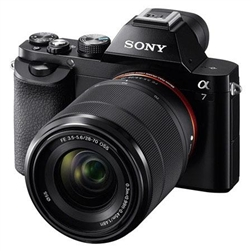SONY ALPHA A7 DIGITAL CAMERA KIT