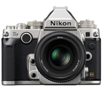 NIKON DF DSLR CAMERA BODY WITH AF-S NIKKOR 50MM F/1.8G SPECIAL EDITION LENS (SILVER)
