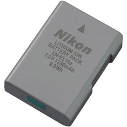 NIKON EN-EL14A RECHARGABLE LI-ION BATTERY