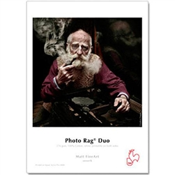 "HAHNEMUHLE PHOTO RAG DUO 11x17"" (25 SHEETS)"