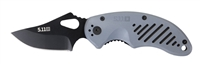5.11 Mini-Pin Folding Tactical Knife, Plain Edge