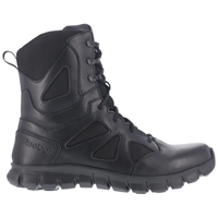 "Reebok Sublite Cushion 8"" Side Zip Tactical Boot"