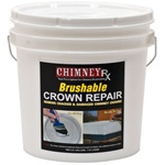ChimneyRx Brushable Chimney Crown Repair