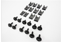 1974 - 1977 Camaro Front Bumper Filler Panel Hardware Set, 24 Piece