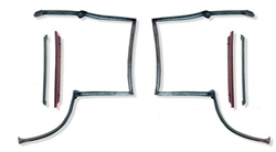 82 - 92 CAMARO& FIREBIRD F-BODY T-TOP WEATHER STRIP KIT 4PCS