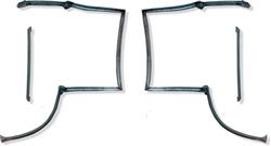 1982 - 1992 Camaro and Firebird T-Top Weatherstrip Kit 4 Pieces