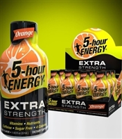 5 Hour Energy Extra Strength Orange Shot 12/59ml Sugg Ret $4.99***PROMO RETAIL 2 for $8.00***