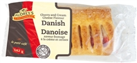 Audrey's Danish Cherry & Cream Cheese 6/142g Sugg Ret $2.59