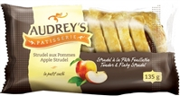 Audrey's Strudels Apple 6/135g Sugg Ret $2.59***Promo Retail 2 For $3.49***