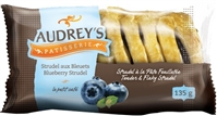 Audrey's Strudels Blueberry 6/135g Sugg Ret $2.59***Promo Retail 2 For $3.49***