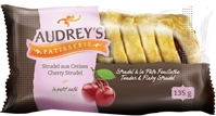 Audrey's Strudels Cherry 6/135g Sugg Ret $2.59***Promo Retail 2 For $3.49***