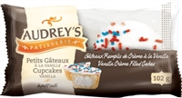 Audrey's Cupcakes Vanilla 2-Pack 6/102g Sugg Ret $2.89