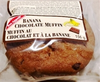 Bon Appetit Jumbo Banana Chocolate Chip Muffin 1/156g Sugg Ret $3.99***ON SALE Sugg Ret. $2.85 each***