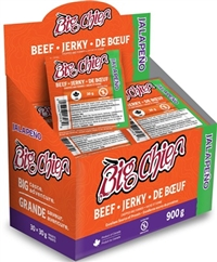 Big Chief 30g Jalapeno Beef Jerky 30/30g Sugg Ret $2.89***Promo Retail 2 For $5.00***