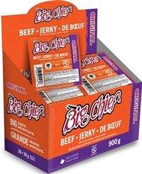 Big Chief 30g Original Beef Jerky 30/30g Sugg Ret $2.89