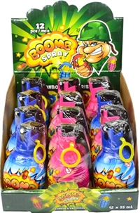 Boomb Spray Candy 12/55ml Sugg Ret $2.69
