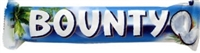 Bounty Coconut Milk Chocolate Bar 24 Sugg Ret $1.89