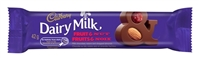 Cadbury Dairy Milk Fruit & Nut  Chocolate Bar 24/60g Sugg Ret $1.89