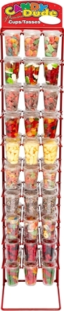 FREE Candy Dude Regular Size Cup Rack  90 Cup***FREE WITH MINIMUM PURCHASE****