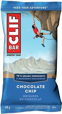 Clif Chocolate Chip Bar 12/68g Sugg Ret $2.39