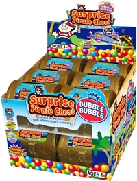 Dubble Bubble Surprise Pirate Chest 12/ Sugg Ret $2.59