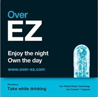 EZ - Over EZ Hangover Prevention Supplement 12/100g  Sugg Ret $5.79