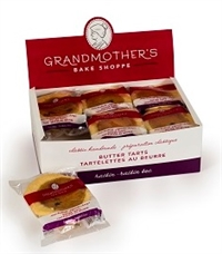 Grandmothers Raisin Tart 12/135g Sugg Ret $2.29