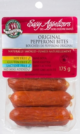 Grimm's 175g Original Pepperoni Bites 10/175g Sugg Ret $ 4.79​***PROMO RETAIL 2 for $5.99***